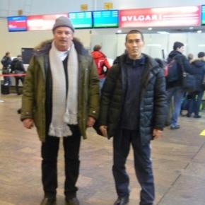 Максат и Кайрат Досмагамбетовы возвратились после лечения домой