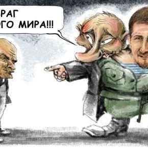 Ленин, как «разрушитель» Советского Союза и Путин, как его «собиратель»