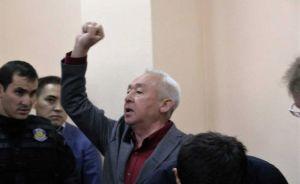 Сейтказы Матаев после оглашения вердикта. Фото Ratel.kz